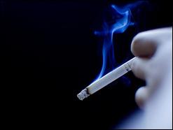 От пассивного курения можно оглохнуть.
