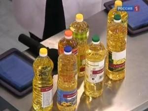 Выбираем подсолнечное масло