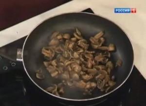 Блюдо из грибов для худеющих